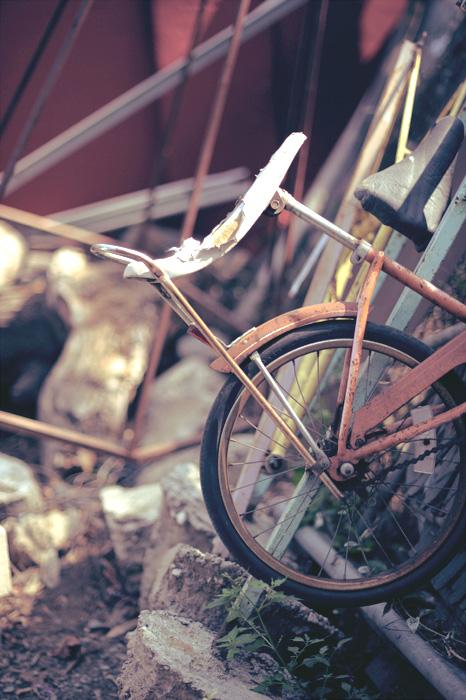junkyard bycycle